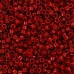 Miyuki Delicas 11/0 Opaque Dyed Garnet Red
