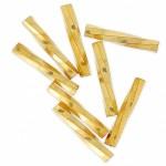 miyuki twist bugles 12mm 24kt guld