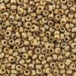 24 karat matte miyuki guld perler