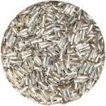 miyuki twist bugles 6mm crystal silver lined