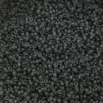 matte grå miyuki seed beads