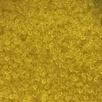 transparente gule miyuki seed beads