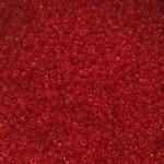 transparente orange røde miyuki seed beads