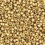 24 karat matte guld perler