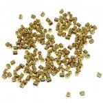 miyuki seed beads guld hex cut