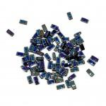 Miyuki halv tila Metallic Iris Veriegated Blue