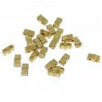 miyuki halv tila perler 24kt guld