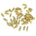 miyuki kvart tila perler 24kt guld