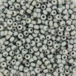 miyuki seed beads 11/0 frosted rainbow cadet grey