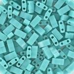 Miyuki halv tila Opaque Turquoise Green