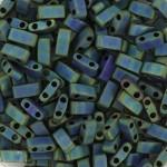 Miyuki halv tila metallic matte iris blue green