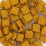 Miyuki Tila perler Opaque Matte Mustard