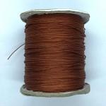kobber farvet nylon knyttesnor 0,5mm