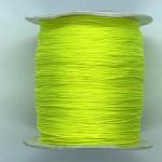 neon gul nylon knyttesnor 0,5mm