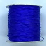 kobalt blå nylon knyttesnor 0,5mm