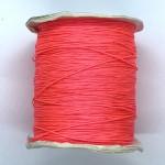 pink nylon knyttesnor 0,5mm