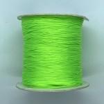 neon grøn nylon knyttesnor 0,5mm
