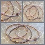 Smykke kit med Miyuki and Swarovski perler #010-20