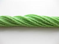 Preciosa seed beads #11 lys grøn, 50cm streng-20