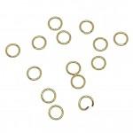 4mm guld stål øskner