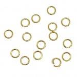 4mm guld øskner 0,6mm