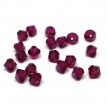5mm swarovski bicones Ruby