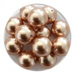 10mm swarovski pearls Rose Gold