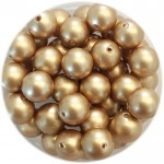 6mm swarovski pearls vintage gold
