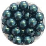 6mm tahiti grønne perler