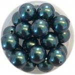 8mm tahiti grønne perler
