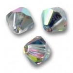 4mm swarovski bicones crystal vitrail medium