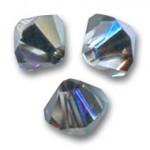 3mm swarovski bicones crystal heliotrope