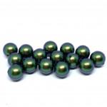 Swarovski crystal pearl, Scarabaeus Green, 8mm rund-20