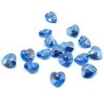 blå swarovski hjerter