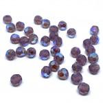 Swarovski crystal, Cyclamen Opal Shimmer, 6mm facetslebet rund-20