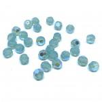 Swarovski crystal, Pacific Opal Shimmer, 6mm facetslebet rund-20