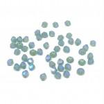 3mm swarovski bicones pacific opal shimmer 2x