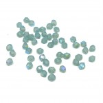 3mm swarovski bicones pacific opal shimmer
