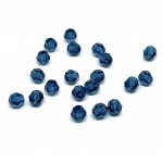 4mm sort facetslebet rund swarovski crystal Montana