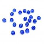 4mm sort facetslebet rund swarovski crystal Sapphire
