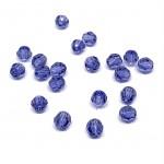 4mm sort facetslebet rund swarovski crystal Tanzanite