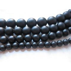 Blackstone, mat rund 14mm, hel streng