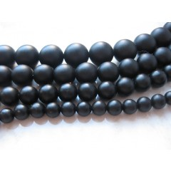 Blackstone, mat rund 16mm, hel streng
