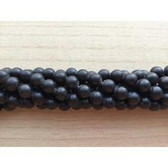 Blackstone, mat rund 10mm, hel streng
