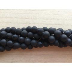 Blackstone, mat rund 12mm, hel streng