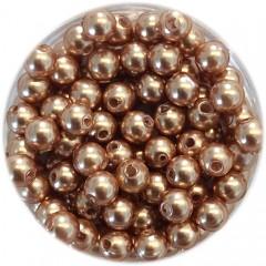 Swarovski crystal pearl, Rose Gold, 3mm rund, 10 stk